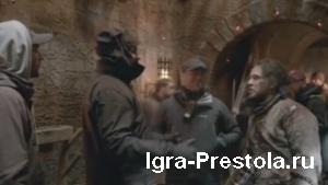 Как снимали 3 серию 8 сезона Игры престолов (Русская озвучка)